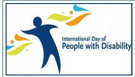 Logo - Giornata internazionale delle persone con disabilità