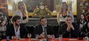 """Palermo. Conferenza di presentazione """"Paranormal Circus – The Kingdom"""""""