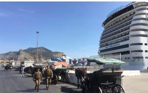 Palermo. Fermato un ladro in flagranza di reato dai militari dell'esercito italiano