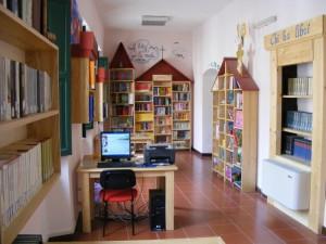 un angolo della Biblioteca Comunale di Agnone