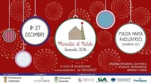 """""""Mercatini di Natale 2016″ a Soverato (Cz) al via l'8 dicembre alle h 19.00 con il live degli Orkestrana Orkestra"""