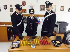 Bova (Rc), rinvenimento munizionamento da parte dei Carabinieri.