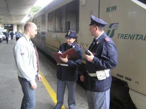 Messina. Aggressione in stazione. La Polizia blocca e denuncia tre persone