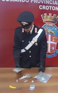 Frenetica attività dei Carabinieri della Compagnia di Crotone nei primi giorni del 2017: droga, furti, stalking, sette persone arrestate.