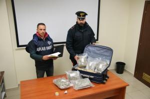 Bovalino (Rc). Carabinieri:  padre e figlio arrestati con 3 chili di marijuana.