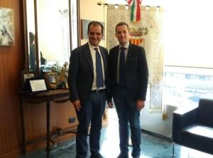 Viabilità nei pressi della Trasversale delle Serre, il Presidente della Provincia di Catanzaro Bruno incontra il sindaco di Serra San Bruno