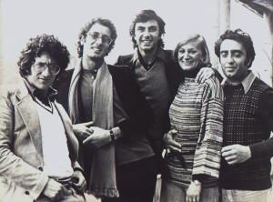 FOTO PRIMA FORMAZIONE NCCP - Napoli 1967