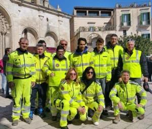 L'attività della sezione di Protezione Civile a Salandra (Basilicata)