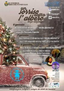 """Melito Porto Salvo (Rc) stasera """"Un sorriso sotto l'albero"""" con Unicef all'Ex Mercato Coperto"""