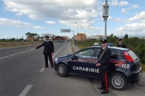 carabinieri posto blocco locri