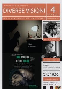 """""""Diverse visioni"""": alla Mondadori di Siderno (Rc) la proiezione dei film di Caricari e Migliaccio Spina"""