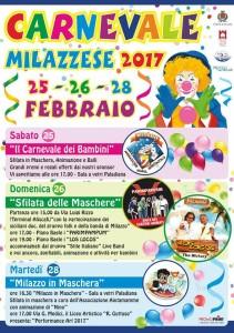 Milazzo (Me). Le iniziative promosse in occasione del Carnevale
