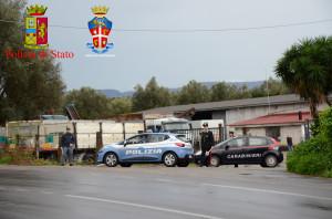 Piana di Gioia Tauro (Rc): 4° blitz per contrastare il fenomeno dei furti di gas metano.  5 arresti in flagranza di reato per furto aggravato e danneggiamento della rete di distribuzione