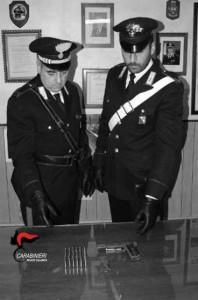 San Roberto (Rc). Carabinieri: un arresto per reato di detenzione illegale di munizionamento ed arma comune da sparo.