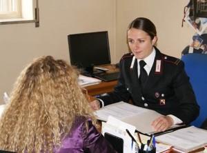 carabinieri-stalking foto repertorio