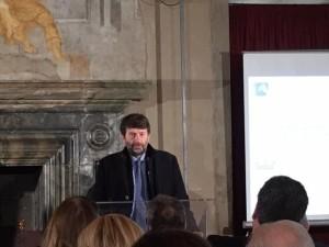 ministro Dario Franceschini presenta il 2017 anno dei borghi italiani