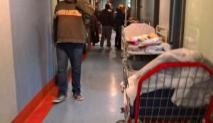 """Catania. Associazione """"Nessuno resti indietro"""" presente nei pronto soccorsi di Catania."""