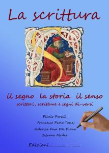 Copertina SENZA EDITORE libro LA SCRITTURA 2017