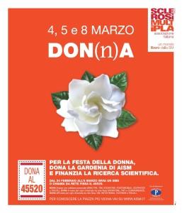 Gardenia locandina A3