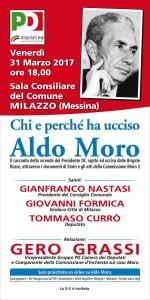 Milazzo (Me). Venerdì 31 convegno sulla figura di Aldo Moro.