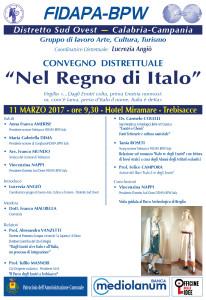 Locandina Fidapa Broglio - marzo 2017 NOME ITALIA