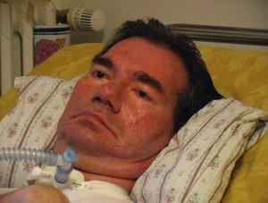 Piergiorgio Welby malato