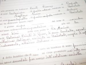 SCRITTURA Vincenzo Guarna - Comune di Badolato