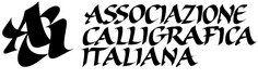 logo associazione calligrafica italiana - ACI