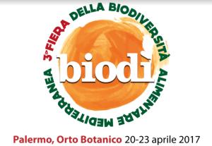 Palermo. Fiera della Bioversita' Alimentare dal 20 al 23 aprile