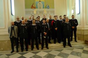 Petilia Policastro (Kr). Celebrato il precetto  pasquale dei Carabinieri della locale Compagnia.