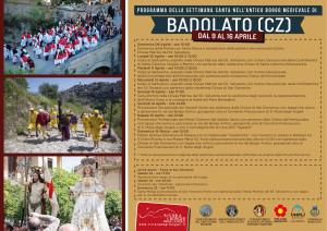 Badolato (Cz). La Santa Pasqua, programma. Foto e video relativi all'anno 2014.
