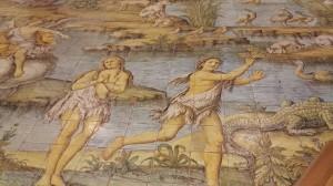 adamo-ed-eva-cacciati-da-eden-chiesa-s-michele-anacapri