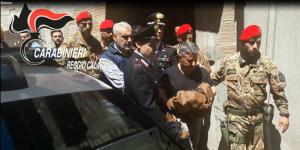Platì (Rc). VIDEO. 'Ndrangheta, arrestato Barbaro Rocco, era ricercato dal gennaio 2016