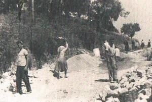 sciopero-a-rovescio-badolato-1950-strada