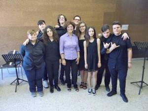 """Montalbano Jonico (Mt). Dilettevole concerto della prima A-M.C. nell'Istituto """"Pitagora"""""""