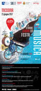 "Messina. Mercoledì 21 ""Festa della Musica 2017″."