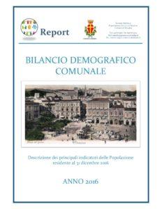 Messina. Il bilancio demografico 2016 realizzato dal Dipartimento Statistica.