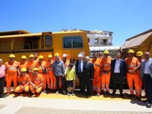 Calabria. sono partiti i lavori della nuova ferrovia jonica.