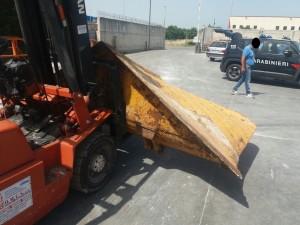 Carabinieri di caccuri (Kr) intervengono a seguito di furto. recuperata la refurtiva. Due denunce per riciclaggio.