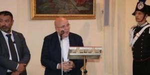 Calabria. Il Presidente Oliverio al Santuario di Polsi