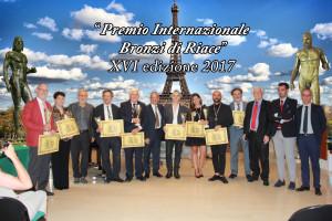 """La  Maison de l'Italie di Parigi ospita  la xvi edizione del premio internazionale """"Bronzi di Riace"""". Premiati   le  brillanti  menti  italo-francesi."""