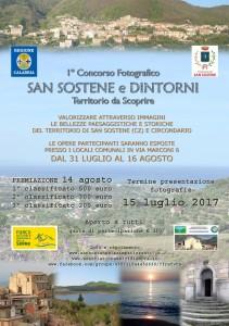 """San Sostene (Cz). I° Concorso Fotografico """"S. Sostene e dintorni. Territorio da scoprire"""""""