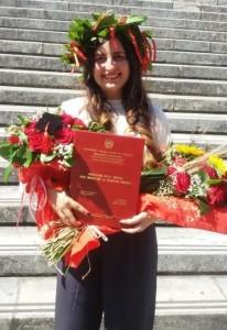 Messina. Auguri dalla Redazione di CostaJonicaWeb alla neo laureata Maria Lanciano.