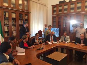 Firmata convenzione per videosorvegliana Catanzaro