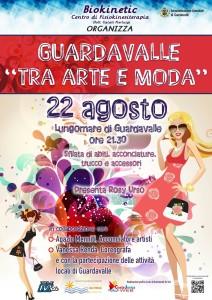 """Guardavalle (Cz). """"Arte e Moda"""" sul Lungomare, domani martedì 22 agosto ore 21.30: sfilate di abiti, acconciature, makeup e accessori."""