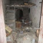 Interno di casa disabitata