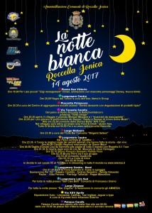 """Roccella Jonica (Rc). Il 14 agosto ritorna la """"Notte Bianca""""."""
