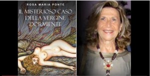 """Capo d'Orlando (Me). Villa Piccolo, giovedì 24 agosto la presentazione del libro """"Il misterioso caso della vergine dormiente"""" di Rosa Maria Ponte"""
