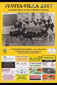 """Bovalino (Rc): domenica 13 agosto """"Vi-vita-villa 2017"""" Con il live di Paolo Sofia"""