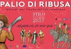 """Stilo (Rc). Nel centro storico il 5 e 6 agosto il """"Palio di Ribusa 2017"""""""